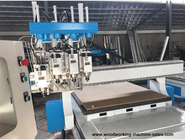 Multi- Head 3d CNC Router machine with 4 engraving spindles CNC wood router KC1325A-4S