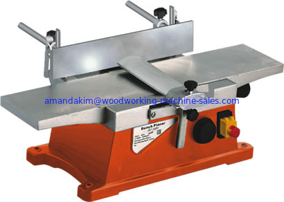 Light duty woodworking bench planer