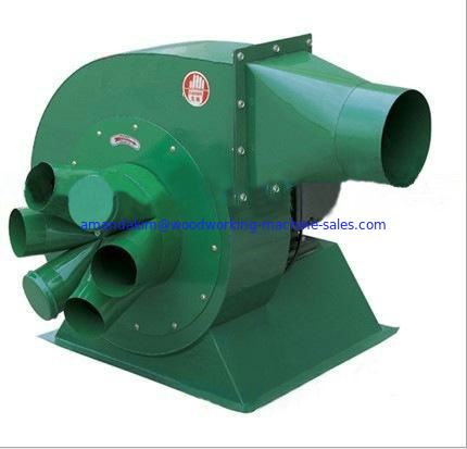 Woodworking machine Vacuum fan for different power dust collectors