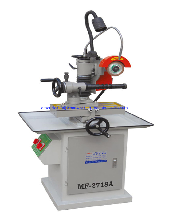 Universal sharpening machine of cutter,saw blade,drill and planer