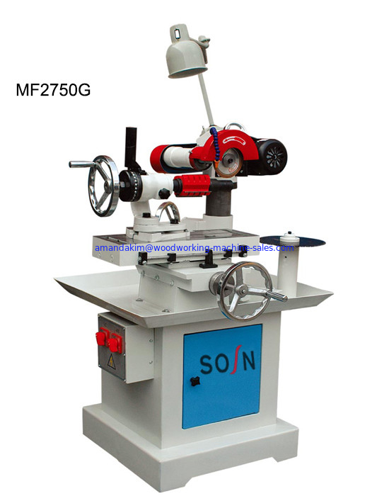 Industrial knife sharpening machines MF2750G sharpening cutter drill saw blade and planer