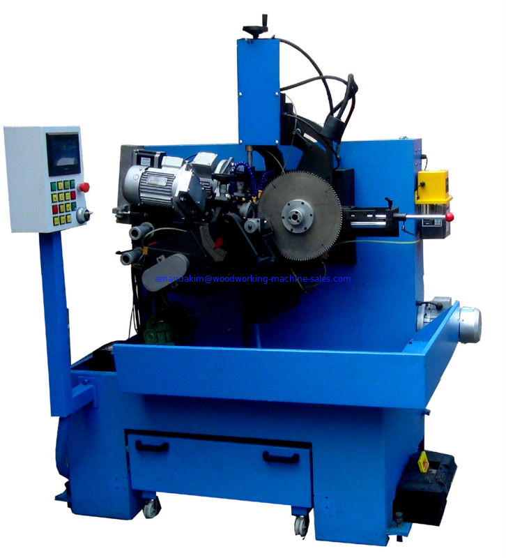 Full-auto saw blade back&forth angle grinding machine
