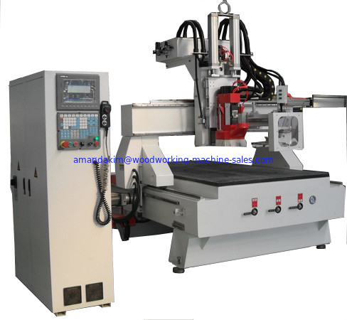 Automatic change knife CNC Router CJ-1325 Disc ATC plate machining center