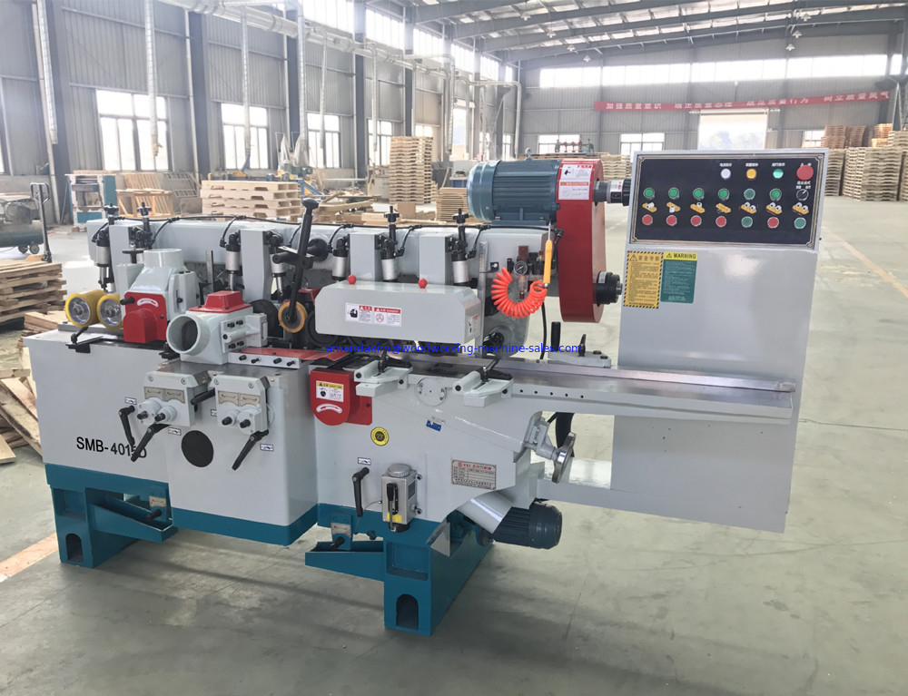 High quality woodworking four side planer moulder machine