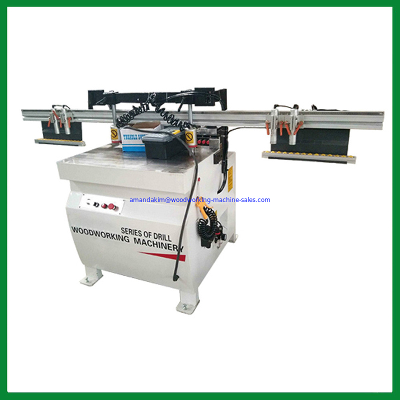 Woodworking cabinet single line 21 bits drilling boring machine