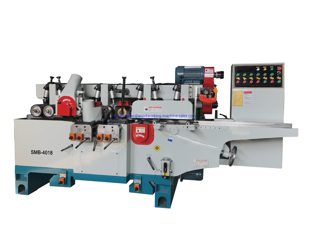 4 sides surface planner solid wood spindle moulder with 6 spindles max. working width 230mm and dust hood