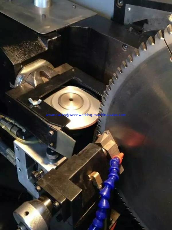 Automatic alloy steel saw blade teeth re-grinding machine