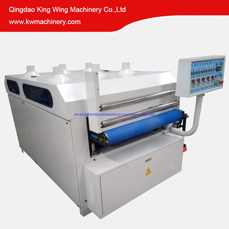 KC1000-5R Wire brush machine for wood floor wood grian making machines
