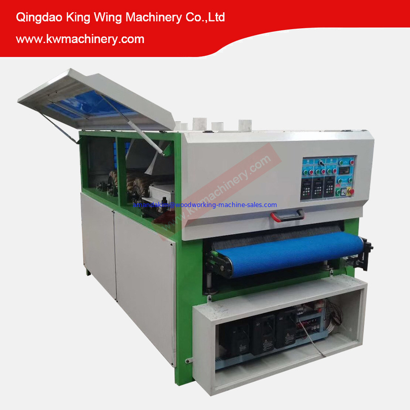 KC1000YP-4R wood sanding machine before or after paint kitchen cabinet MDF board sanding machine