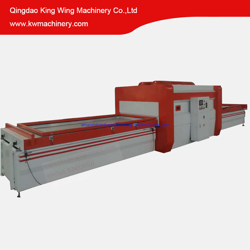 Full Automatic Wood Veneer Vacuum Press Machine Vacuum Membrane Press Machine