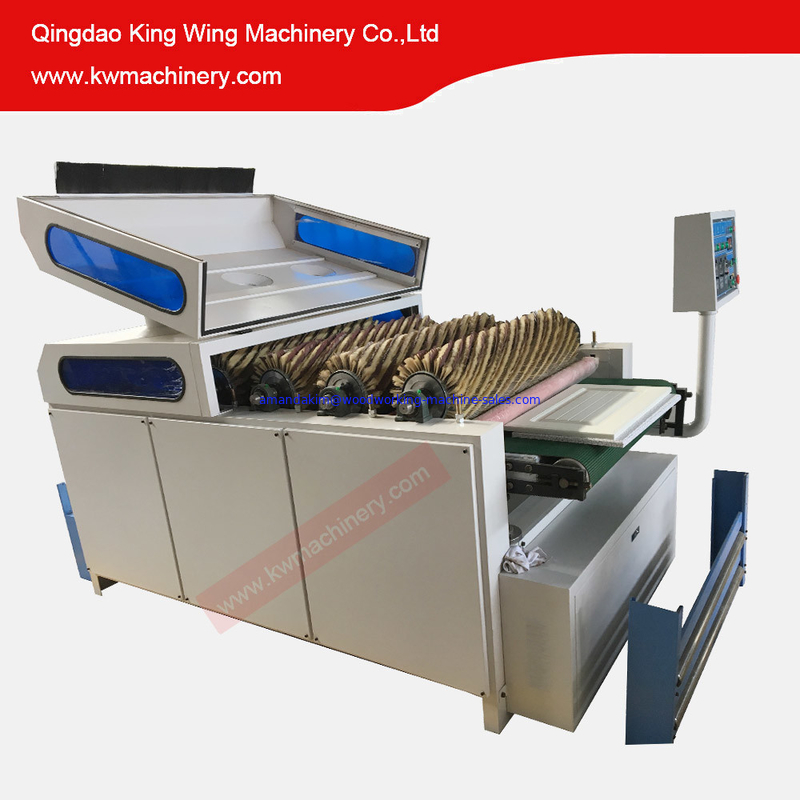 6 Rollers sanding polishing machine max. working length 1000mm sanding machine for door