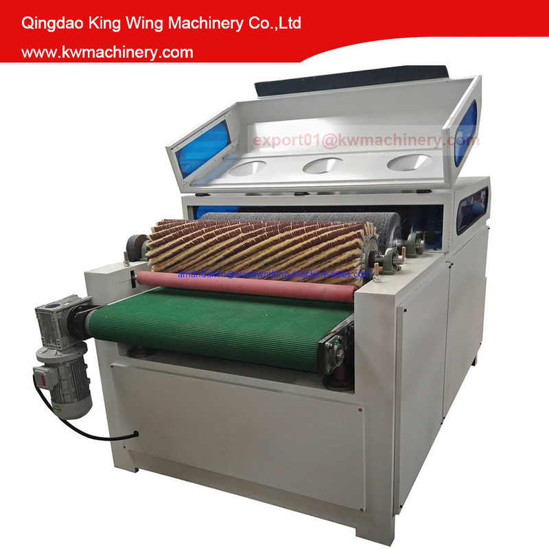 KC1000-5P Wire Brush Roller Wood Sanding Machine