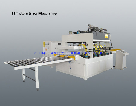 China High frequency vertically lifting board jointing machine distributor