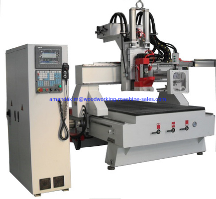 China Automatic change knife CNC Router CJ-1325 Disc ATC plate machining center factory