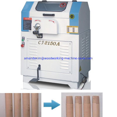China CJ2150A Semi automatic wooden pole screw thread circular tooth making machine wood lathe distributor