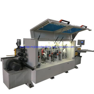 China Straight full automatic PVC edge banding machine for door cabinets KC370D distributor
