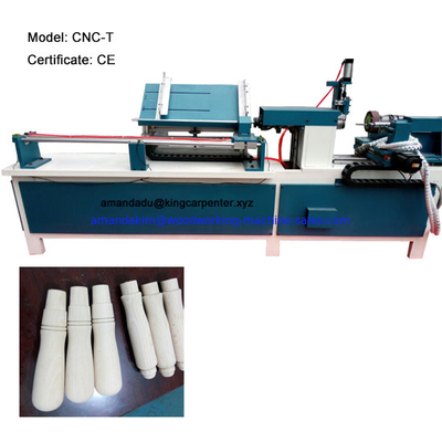 China wooden toy wooden beads wooden handle making machine automatic CNC wood lathe distributor