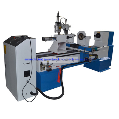 China CNC wood carving lathe machine KC1530-S factory