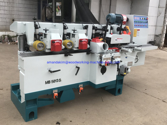 China Timber Four sides planer with 5 spindles four side moulder distributor