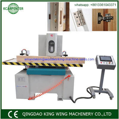 China CNC Swing Chisel Mortiser Professional Wood Door Woodworking Machinery factory
