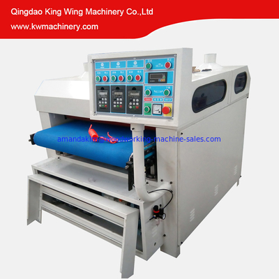 China KC1000-3R Wood grain making wire brush machine for wooden table floor door distributor