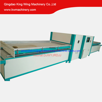 China Full automatic PVC film vacuum membrane press machine laminating woodworking machine distributor