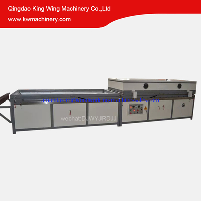 China Furniture machine for compressing pvc on doors or cabinets/Vacuum Membrane Press distributor
