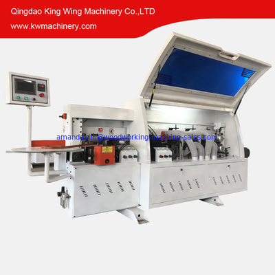 China Edge banding machine for PVC edge tape woodworking factory