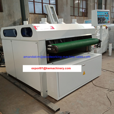 China Wire brush drawing wood floor steel brush machine factory