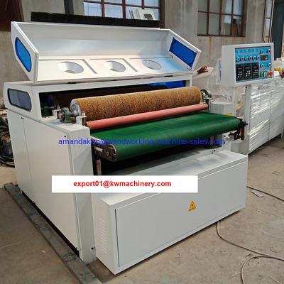 China Steel wire roller brush machine making wood grain on solid wood factory