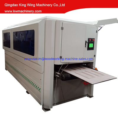 UV line wood door brush sanding machine KC1000-8SD