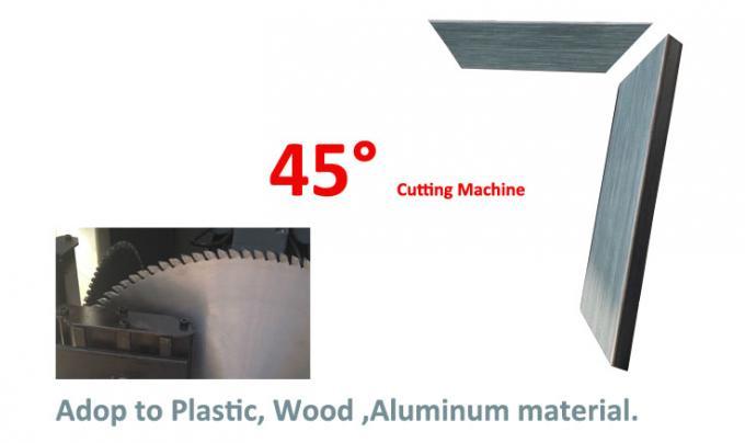 Photo frame making machine 45 degree angle wood cutting machine