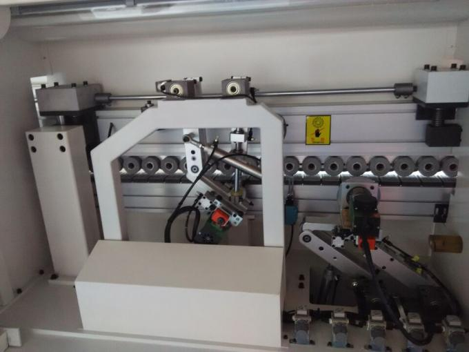Full automatic PVC edge banding machine pre-milling round corner trimming edge bander