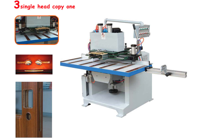 wood door making machine hinge key lock hole mortiser cnc mortiser