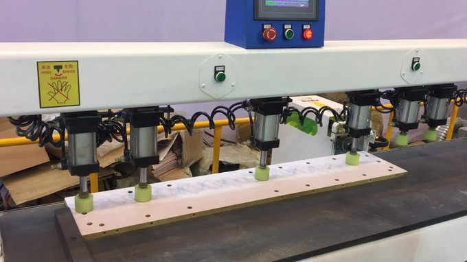 Full automatic CNC horizontal drilling machine for cabinet