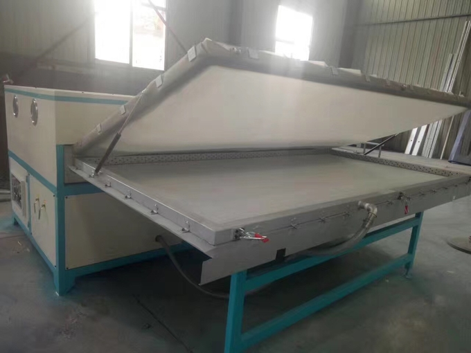 Vacuum press machine Single work table