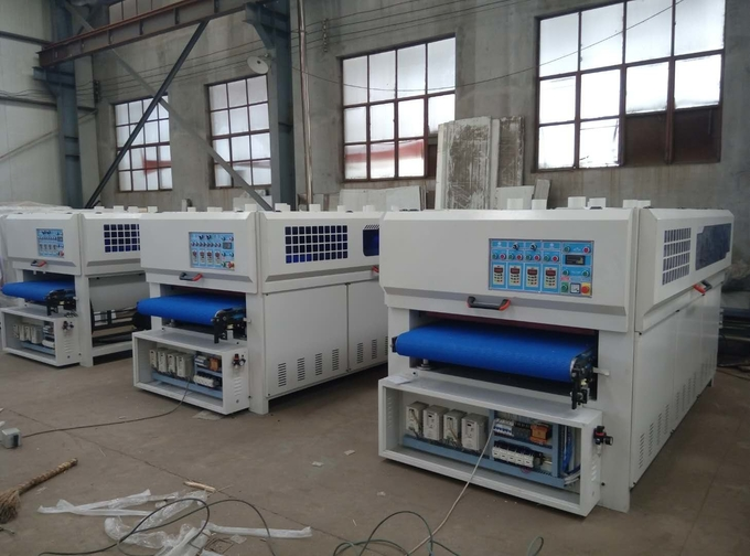 KC1000-2YP-4R 18 discs sanding brush 4 long sanding roller sanding machine