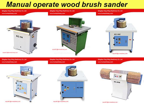 Solid wood drum sander machine wood door edge sanding polishing machine